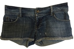 Billabong Shorts Denim Low Rise Denim Shorts-Dark Rinse