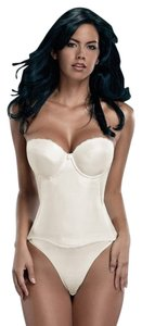Merry Modes Merry Modes Flattering Me Longline Bra Bustier 728S Ivory Size 38C