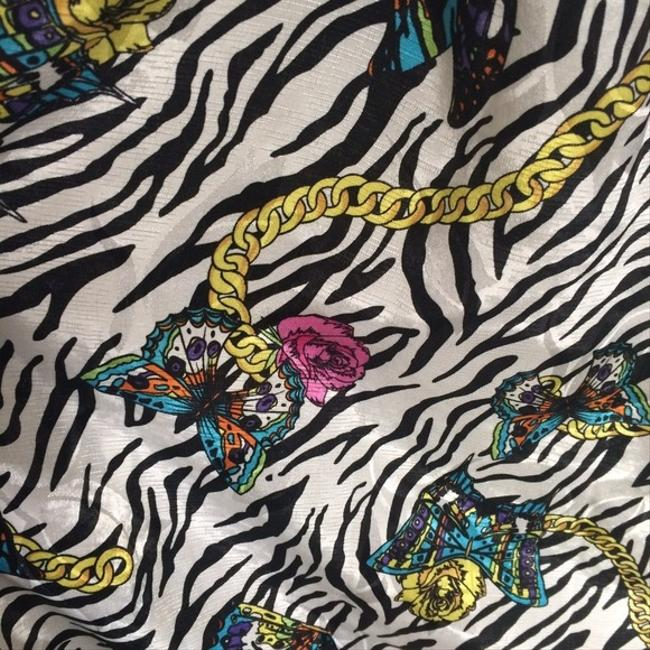 BB Dakota short dress Bb Zebra Print Butterfly Chains Bb on Tradesy