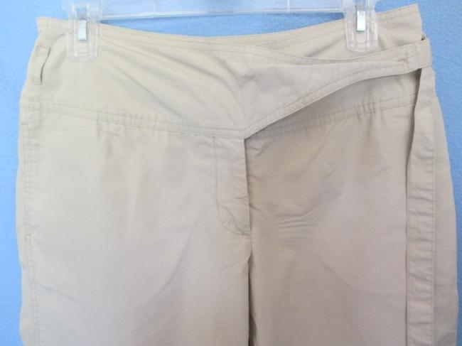 Newport News Capri/Cropped Pants khaki