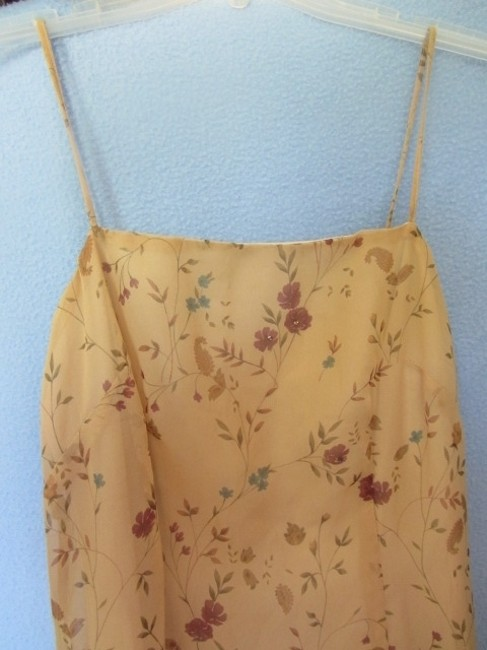 beige with floral print Maxi Dress by All That Jazz Image 1