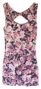 Forever 21 short dress 21 Floral Bodycon Bodycon on Tradesy