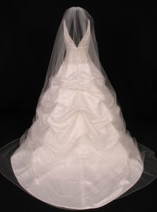 Your Dream Dress Exclusive S0100vl Diamond White Cathedral Length Bridal Veil
