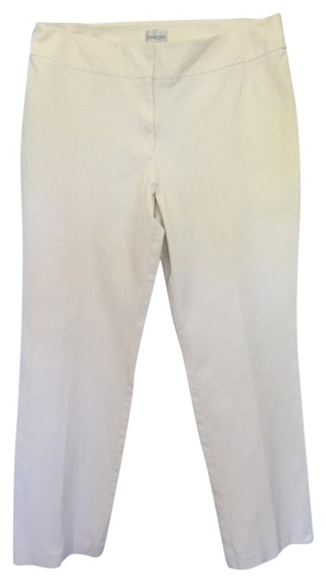 Chico's Trouser Pants off white