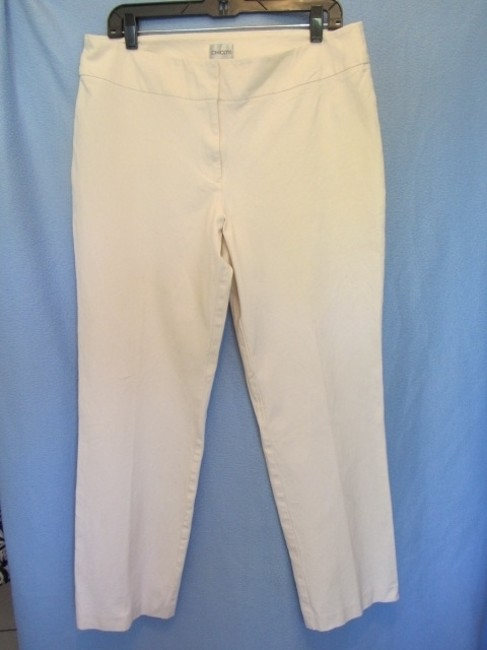 Chico's Trouser Pants off white Image 2
