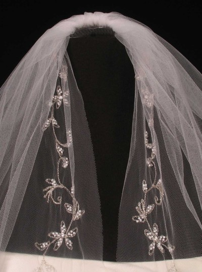 White Medium 2805vl Bridal Veil