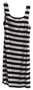 Ralph Lauren short dress Navy & White Stripe Dress on Tradesy