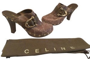 Céline Brown Mules