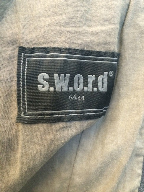 S.W.O.R.D Grey Leather Jacket
