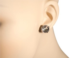 Sorrelli Sorrelli Large Swarovski Crystal Clear White Stud Earrings