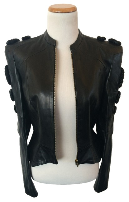 Preload https://item4.tradesy.com/images/black-rounds-leather-jacket-size-2-xs-4980928-0-1.jpg?width=400&height=650