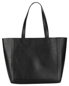 Loeffler Randall Leather Tote in Black