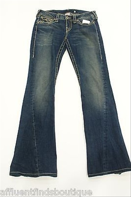 True Religion Disco Joey Big T X Flare Leg Jeans