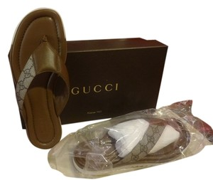 Gucci Beige-Ebony IT38 Sandals