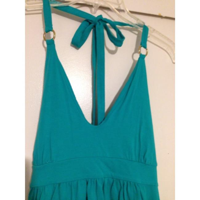 Victoria's Secret short dress Turquoise on Tradesy