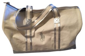 Ralph Lauren White and silver Travel Bag