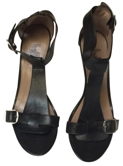 Belle by Sigerson Morrison Blac Wedges
