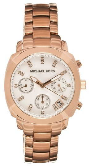 Preload https://item4.tradesy.com/images/michael-kors-michael-kors-rose-gold-stainless-steel-mop-dial-with-crystals-chronograph-watch-mk5336-4982323-0-0.jpg?width=440&height=440