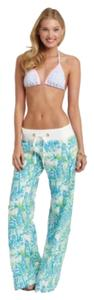 Lilly Pulitzer Relaxed Pants Blue green white pink