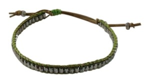 Stella & Dot Stella & Dot Wanderlust Single Wrap Bracelet Green