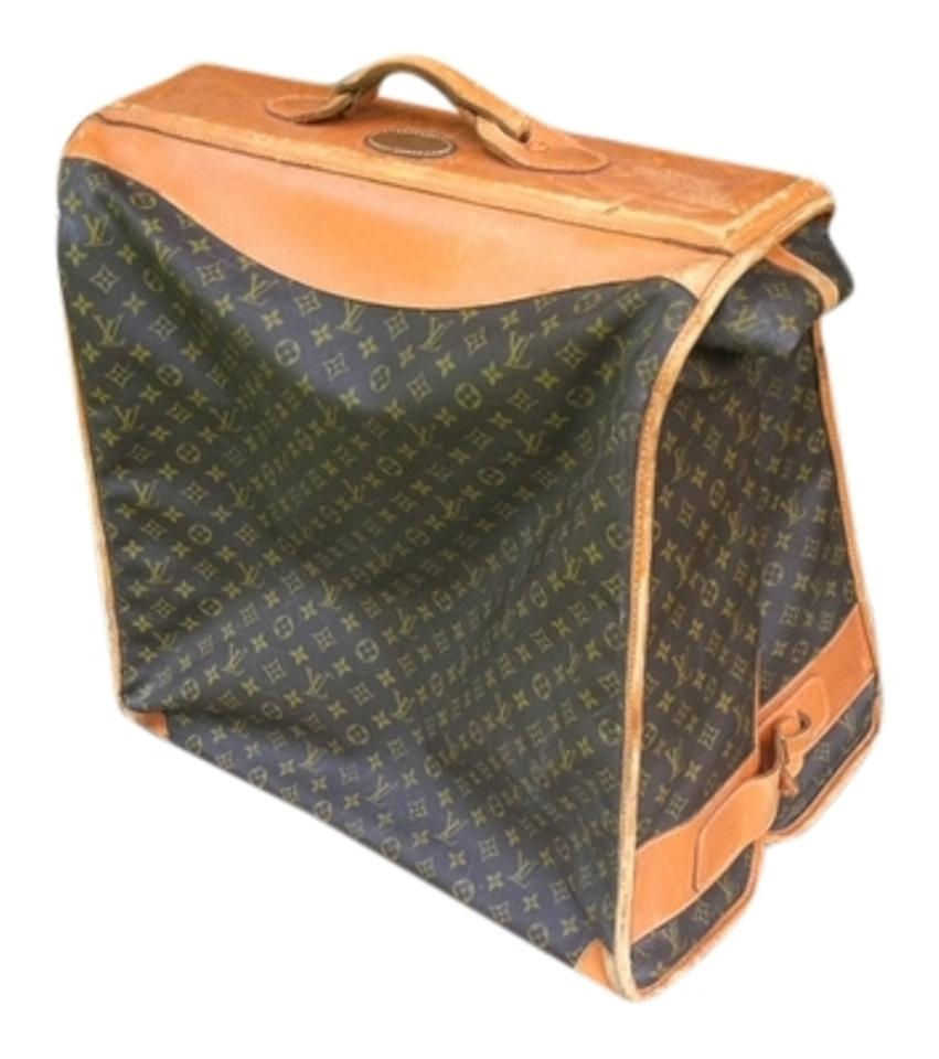 ced4f1f81534 Louis Vuitton Rare Limited Edition Vintage Brown Monogram Travel Bag Image  0 ...