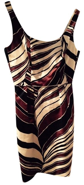 Preload https://item5.tradesy.com/images/trina-turk-party-holiday-fall-dress-white-black-and-brown-4983784-0-2.jpg?width=400&height=650