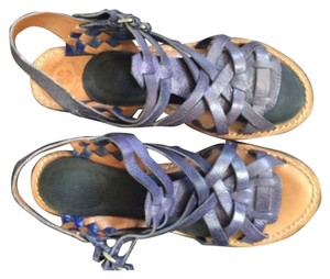 Lucky Brand Blue Platforms