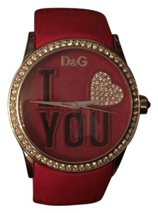 Dolce&Gabbana 'I Love You' Dial Watch