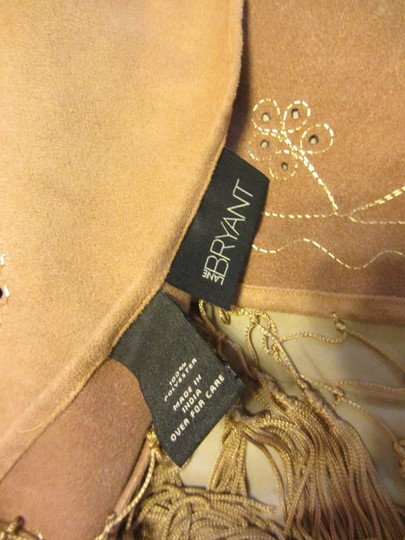 Lane Bryant Camel Tan Wrap Highest Quality - Sued appearance, BEAUTIFUL Detailing