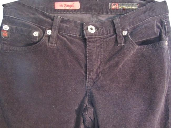 Item - Black Corduroy Dark Rinse The Angel Boot Cut Jeans Size 26 (2, XS)
