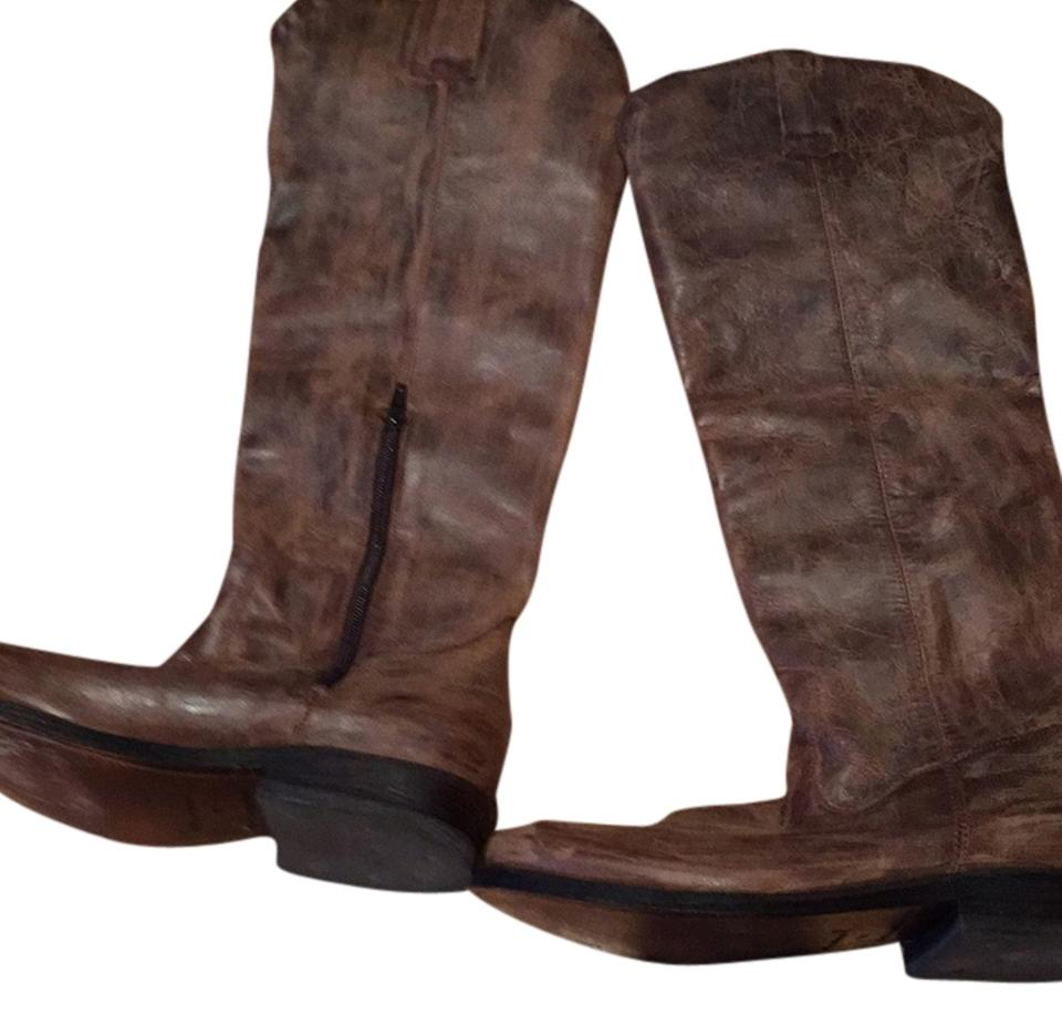 Miz Tan/ Mooz Tan/ Miz Brown Knee High Boots/Booties db0640