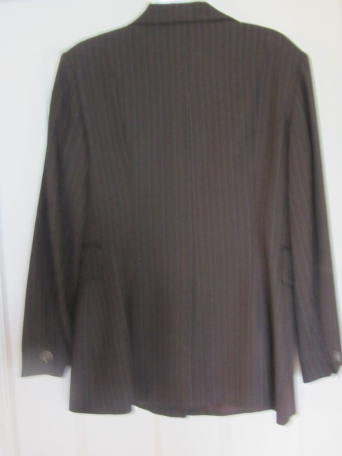 Tahari SALE!!! REDUCED AGAIN!!! Size 12 Tahari Jacket ONLY Brown Stripes Beautiful expensive Look and top quality