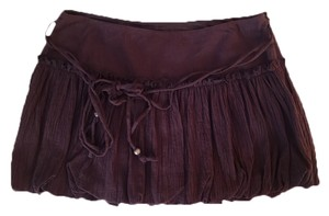 Guess Mini Skirt Burgundy