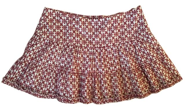 Guess Mini Skirt Red Floral