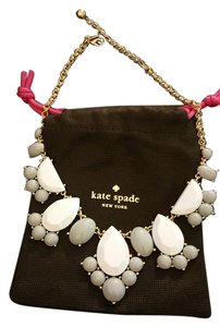 Kate Spade Kate spade gray and white weekender necklace