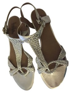 Belle by Sigerson Morrison Silver Sandals