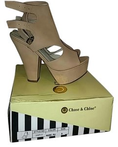 Chase & Chloe nude Platforms