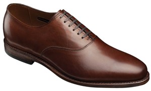 Allen Edmonds Men's Carlyle Dark Chili Flats
