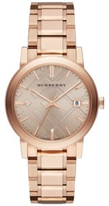 Burberry NWT Burberry Rose Gold Ion-Plated Stainless Steel Bracelet Watch 38mm