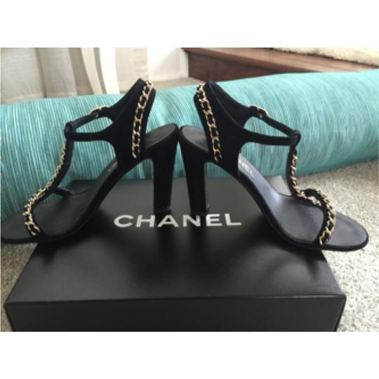 Chanel Black/gold hardware Formal