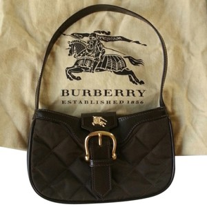 Burberry Ferby Quilted Leather Shoulder Bag