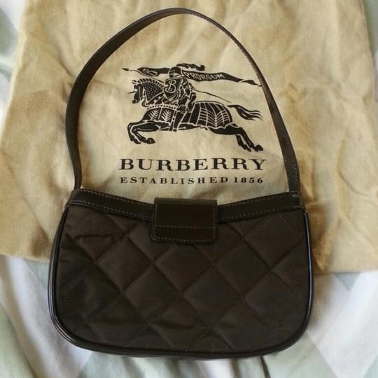 Burberry Ferby Quilted Leather Purse Hand Mini Dust Shoulder Bag