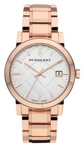 Burberry BRAND NEW Burberry Check Rose Goldtone Swatch