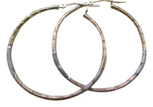 100% REAL 10K GOLD WOMEN'S HOOP EARING