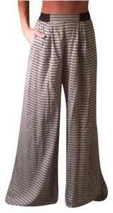 Xhilaration Wide Leg Pants Black and white