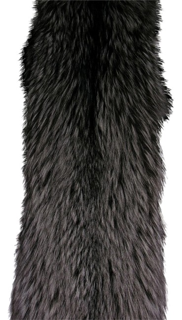 Preload https://item2.tradesy.com/images/silverblack-furs-of-custom-one-of-a-kind-fox-boa-ponchocape-size-os-one-size-4989751-0-0.jpg?width=400&height=650