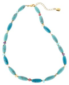 Lauren Ralph Lauren LAUREN Ralph Lauren Turquoise Beaded Necklace Semi Precious Beads