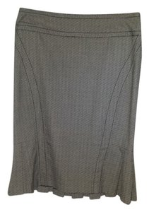 XOXO Gray Knee Length Skirt Grey