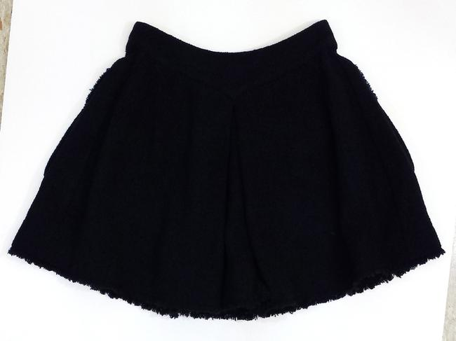 Chanel Wool Circle With Pockets Skirt