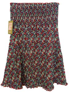 Juicy Couture short dress Floral Smocked Babydoll Cover-up on Tradesy